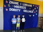 Konkurs wierszy Doroty Gellner